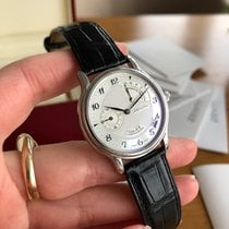 Zenith Elite Power Reserve Platinum 36mm Silver Arabic numerals