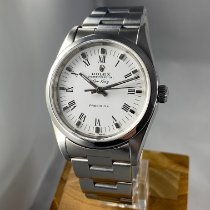 Rolex Air King Precision Steel 34mm White Roman numerals United States of America, Massachusetts, Boston