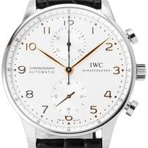IWC Portugieser Chronograph neu 2020 Automatik Uhr mit Original-Box und Original-Papieren IW371445