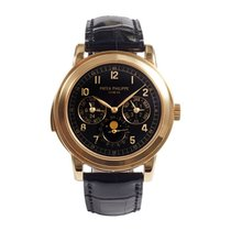 Patek Philippe Minute Repeater Perpetual Calendar Rose gold 42mm Black Arabic numerals