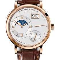 A. Lange & Söhne Rose gold Manual winding Silver 41mm new Grand Lange 1