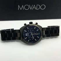 Movado Datron Staal Zwart