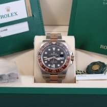 Rolex GMT-Master II Gold/Steel 40mm Black No numerals United States of America, California, Beverly Hills