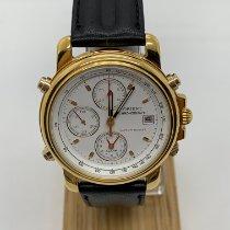 オリエント ステンレス 38mm クオーツ Orient Chronograph HFA91570CA Tachy meter Uomo, Acciaio 新品