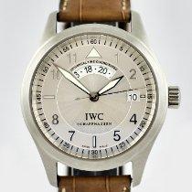 IWC Fliegeruhr Spitfire UTC Stahl 39mm Silber Arabisch Deutschland, München