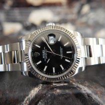 Rolex Datejust Otel 41mm Negru Fara cifre