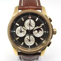 Breitling Bentley Mark VI Ruzicasto zlato 42mm Smedj