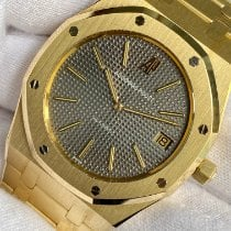 Audemars Piguet Royal Oak Jumbo Or jaune 39mm Gris Sans chiffres