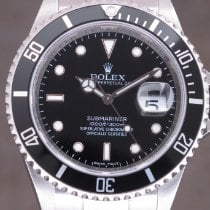 Rolex Submariner Date Steel 40mm Black No numerals United Kingdom, London Paris Brussels face to face delivery only - Other destination shipping with Brinks & DHL Express