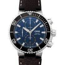 Oris Aquis Chronograph new 2020 Automatic Watch with original box and original papers 01 774 7743 4155-07 5 24 10EB