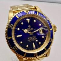 Rolex Submariner Date Oro giallo 40mm Blu Senza numeri Italia, Roma