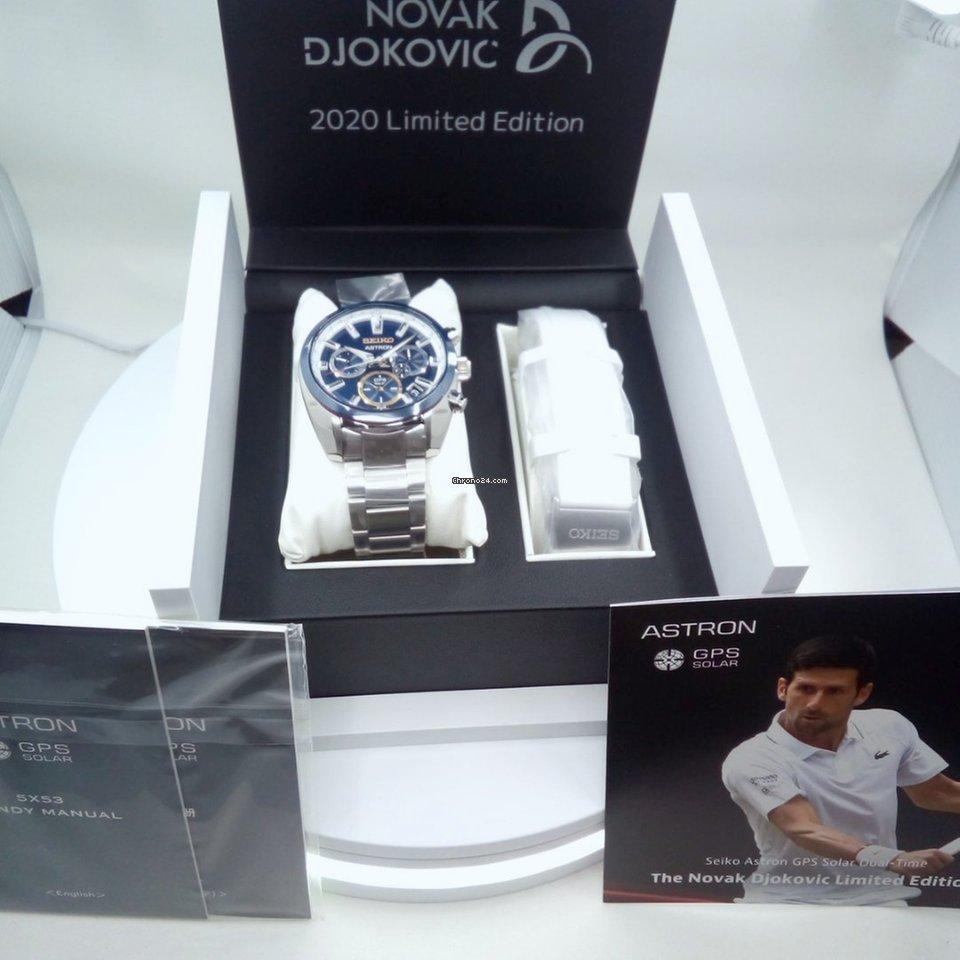 Seiko AstroN GPS Novak Djokovic