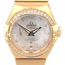 Omega Constellation Petite Seconde Red gold 27mm Mother of pearl No numerals