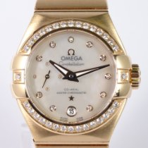 Omega Constellation Petite Seconde Or rouge 27mm Nacre Sans chiffres