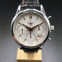 Longines Column-Wheel Chronograph Acier 41mm Champagne Arabes