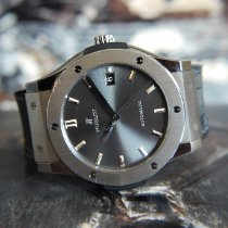 Hublot Classic Fusion Racing Grey 511.NX.7071.LR Good Titanium 45mm Automatic