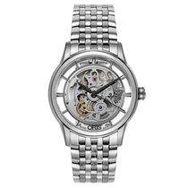 Oris Artelier Translucent Skeleton nuevo Automático Reloj con estuche y documentos originales 01 734 7684 4051-07 8 21 77