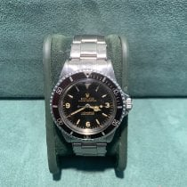 Rolex Submariner (No Date) Acero 40mm Marrón Sin cifras