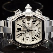 Cartier Roadster Steel Silver Roman numerals United Kingdom, Essex