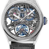 Zenith Defy 40.9000.4805/75.R582 New Platinum 44mm Manual winding