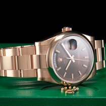 Rolex Day-Date 36 Roségold 36mm Braun Deutschland, Essen