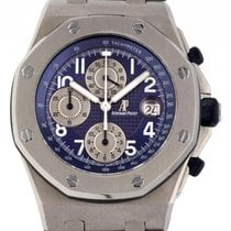 Audemars Piguet Royal Oak Offshore Chronograph occasion Bleu Titane