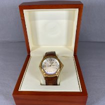 Ebel pre-owned Quartz 38mm Silver Sapphire crystal 3 ATM