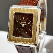 Omega De Ville Gold/Steel 23.50mm Brown No numerals India, MUMBAI
