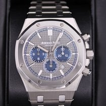 Audemars Piguet Titanium Automatic Grey No numerals 41mm pre-owned Royal Oak Chronograph