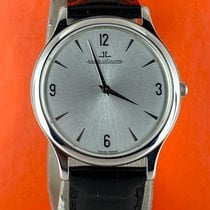 Jaeger-LeCoultre Master Ultra Thin Steel 34mm Silver Arabic numerals