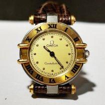 Omega Constellation Ladies Gold/Steel 22.50mm Gold No numerals India, MUMBAI