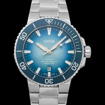 Oris Aquis Date Steel 43.5mm Blue United States of America, California, Burlingame