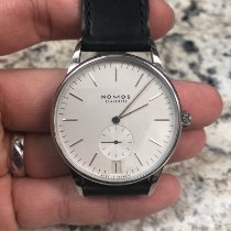 NOMOS Orion Datum Steel 38mm White United States of America, Maryland, Gambrills