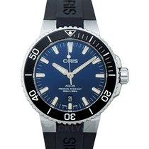 Oris Steel Automatic Blue 43.50mm new Aquis Date