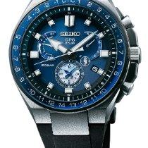 Seiko Astron GPS Solar Chronograph Steel Blue