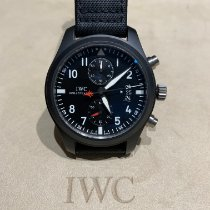 IWC Pilot Chronograph Top Gun Ceramic 46mm Black Arabic numerals Singapore, singapore