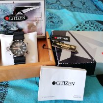 Citizen Stal Czarny Bez cyfr