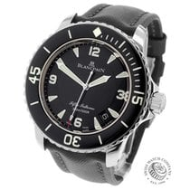 Blancpain Fifty Fathoms Steel 45mm Black United Kingdom, London