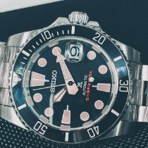 Seiko Prospex Steel 40mm Black No numerals Singapore, singapore