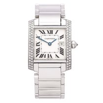 Cartier Tank Française 25mm Silver United States of America, California, Beverly Hills