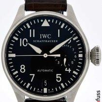 IWC Big Pilot Acero 46mm Negro