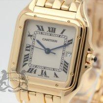 Cartier gebraucht Quarz 27.5mm Weiß Saphirglas