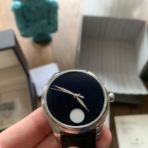 H.Moser & Cie. Steel 42mm Manual winding 1801-1200 new