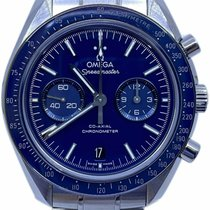 Omega Titane Remontage automatique Bleu 44.2mm occasion Speedmaster Professional Moonwatch