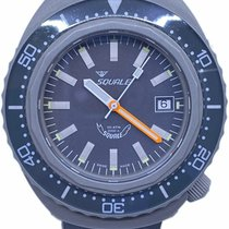 Squale Steel Automatic Grey No numerals 44mm