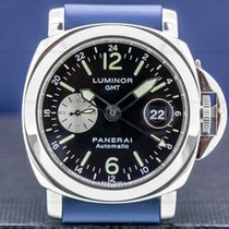 Panerai Luminor GMT Automatic Acero Árabes