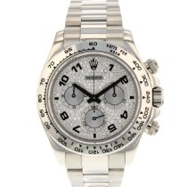 Rolex Or blanc Remontage automatique Arabes 40mm occasion Daytona
