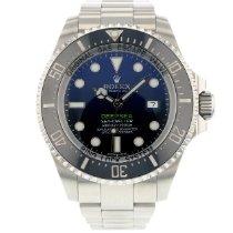 Rolex Sea-Dweller Deepsea pre-owned 44mm Blue Chronograph Date Steel