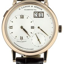 A. Lange & Söhne Grand Lange 1 Rose gold 41mm Silver United States of America, Illinois, BUFFALO GROVE