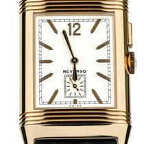 Jaeger-LeCoultre Grande Reverso Ultra Thin Duoface Or rose 47mm Blanc